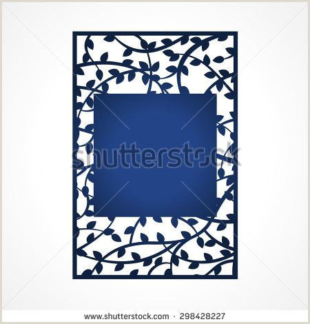 Abstract vector frame with tree branches May be used for