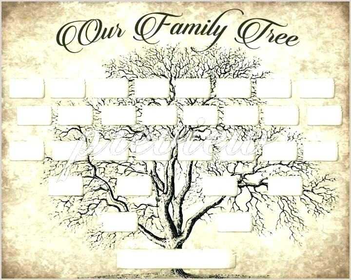 Free Editable Family Tree Template With 3 Branches Three