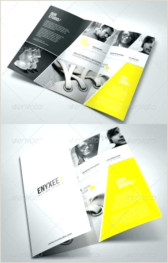 Creative Fold Brochure Leaflet Template Design For Business