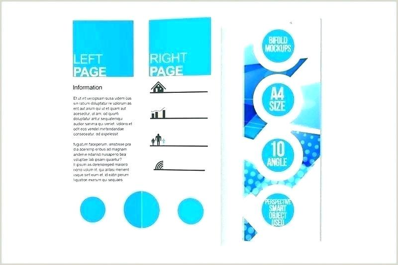 z fold brochure template word