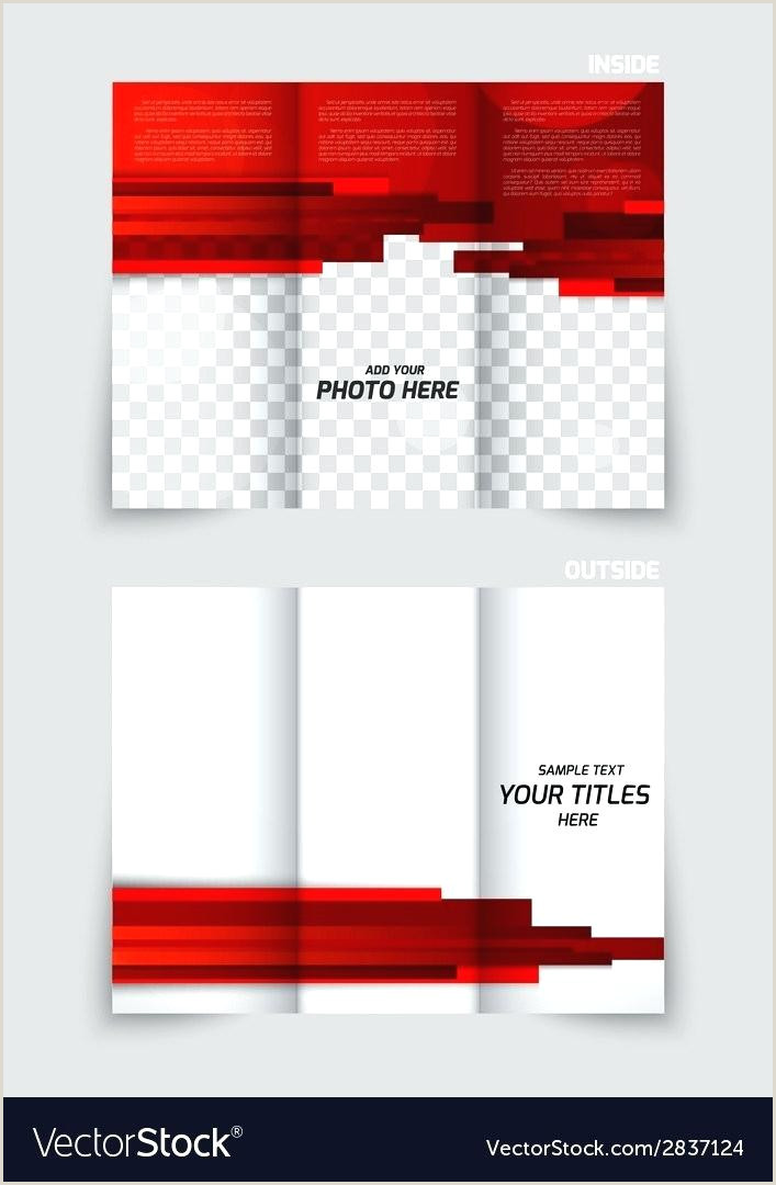 Free Fold Brochure Templates By Blank Tri Template