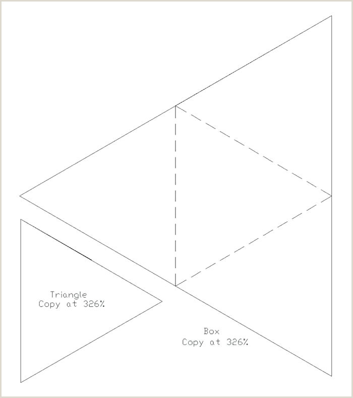 Triangle Box Template Gable Box Template Free Download Gain Creativity Templates
