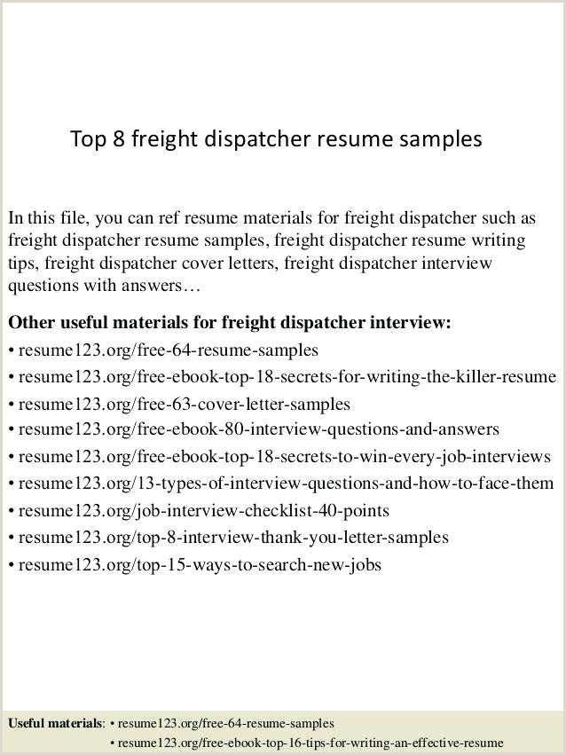 Truck Dispatcher Resume Dispatcher Resume Sample – Growthnotes