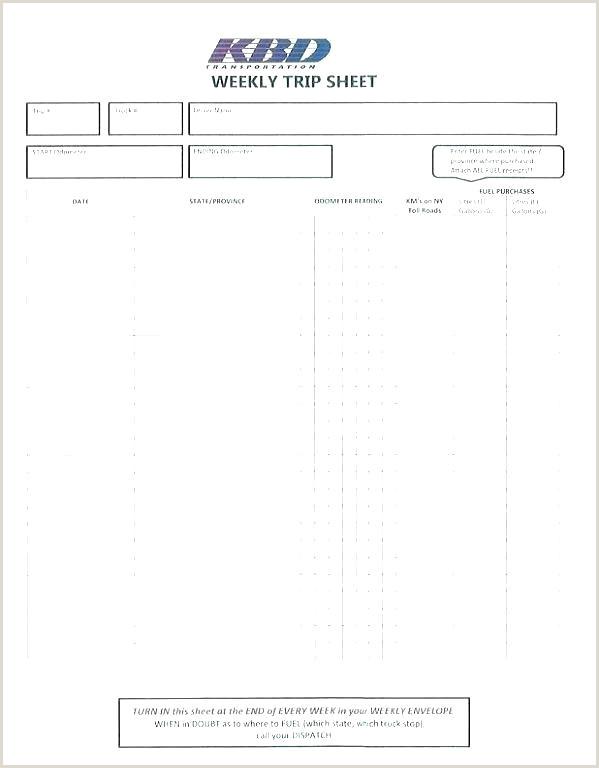 weekly log sheet template