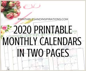 Printables and Inspirations Free printable calendar