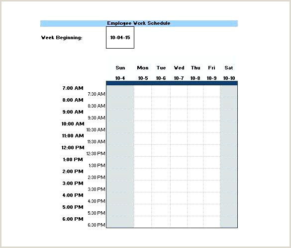 Two Week Look Ahead Schedule Template 2 Week Schedule Template Excel – Medpages