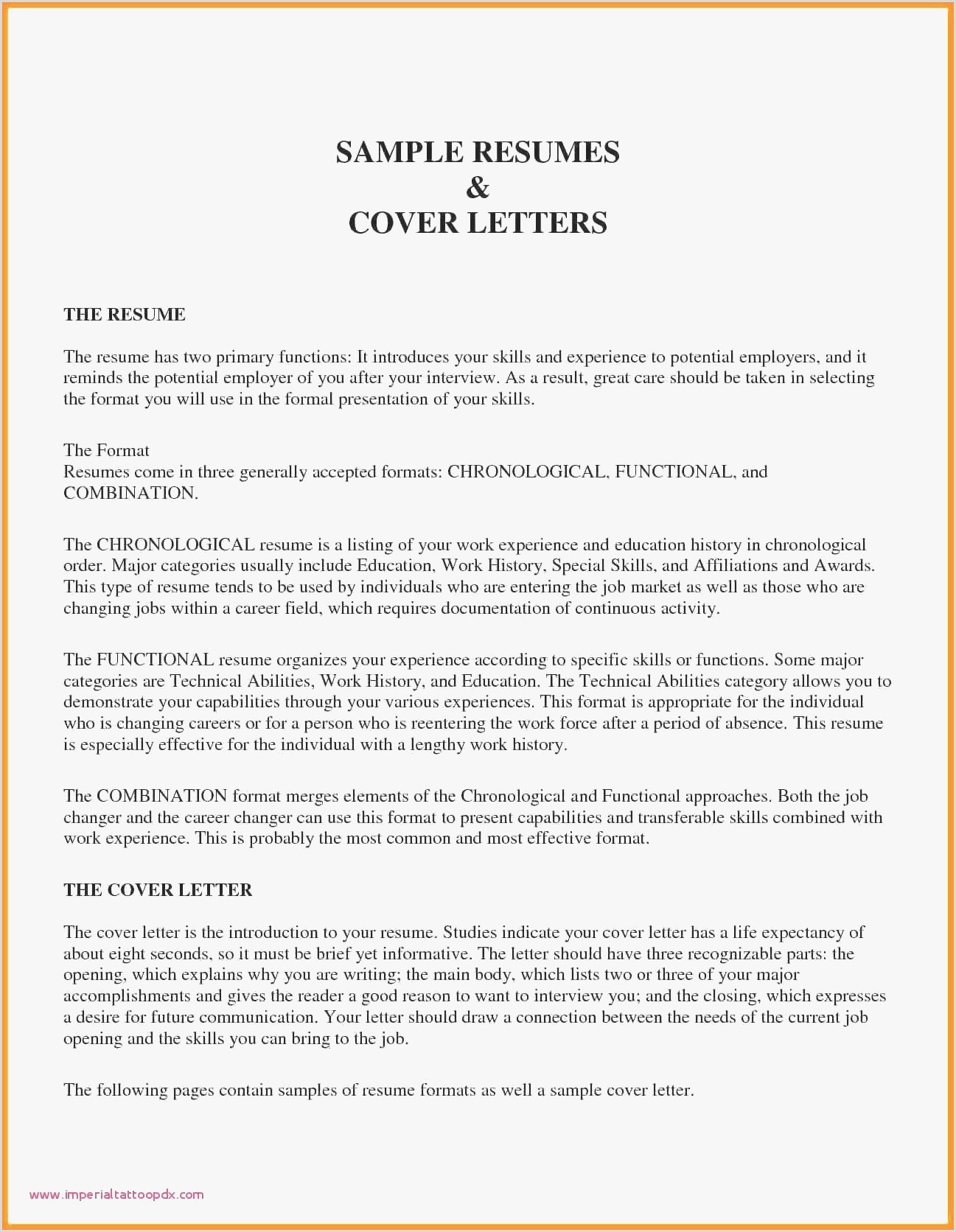 Type A Cover Letter Examples Cv Type How to Email A Cv and