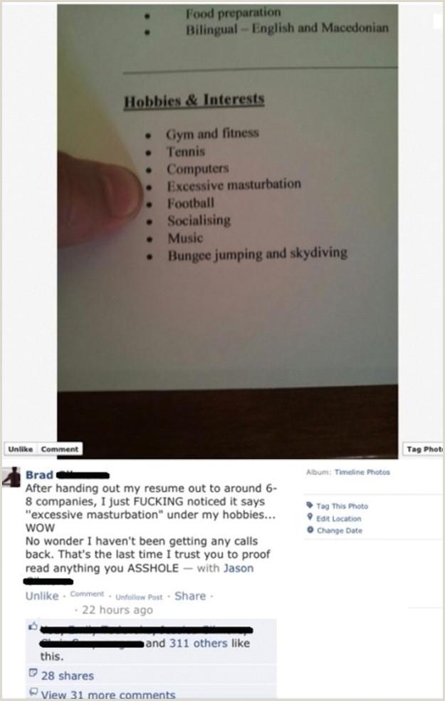 Los currculums más divertidos CV graciosos