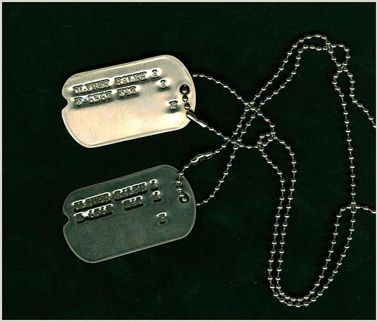 U S Army WW2 Dog Tags