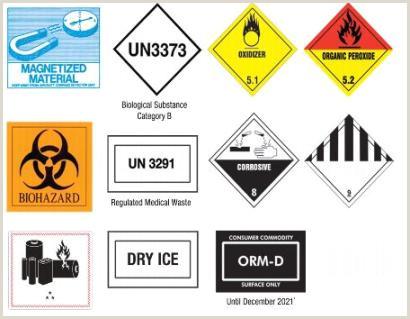 Usps Package Handler Job Description 325 Dot Hazardous Materials Warning Labels