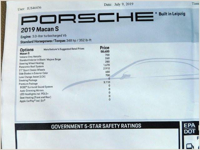 Usps Package Handler Job Description New 2019 Porsche Macan S 2019