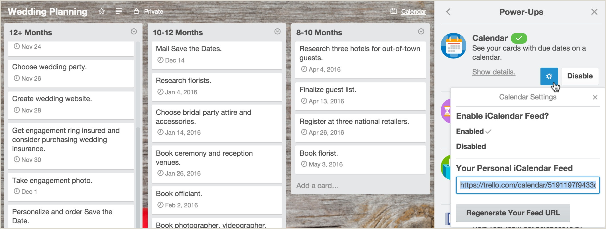 Adding A Calendar To Your Trello Boards