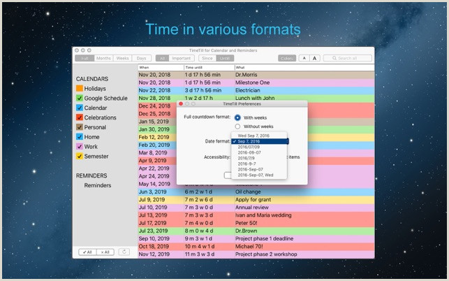 TimeTill for Calendar on the Mac App Store