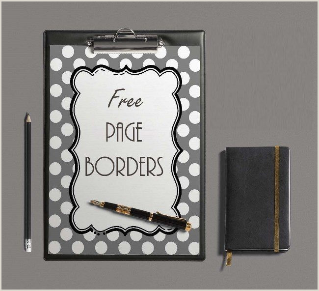 Free Borders and Backgrounds