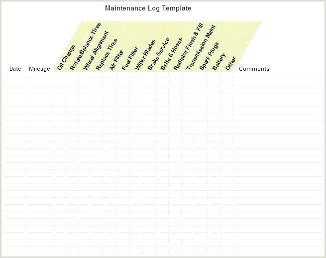 Vehicle Log Sheet Excel Fleet Maintenance Log Template – Gardensbymary