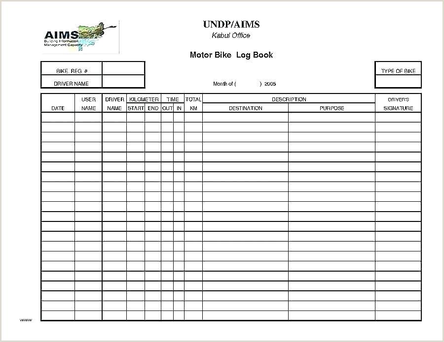 fuel log sheet template