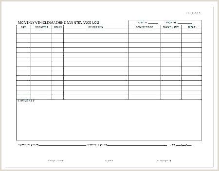 Fuel Log Sheet Template Vehicle Consumption Maintenance
