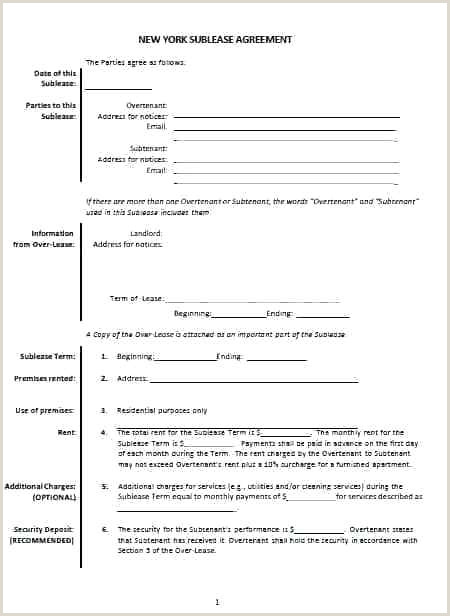 8 Lease Purchase Agreement Template Vehicle Sublease