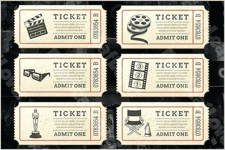 ticket template psd – bo sinmotion