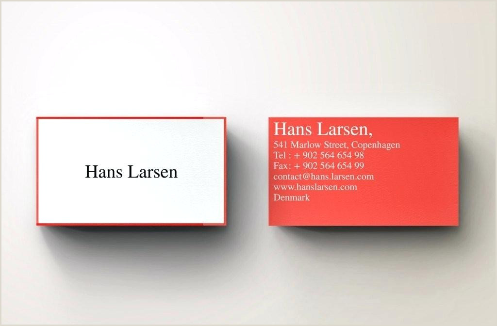 Blank Business Card Template Free Download In Theme