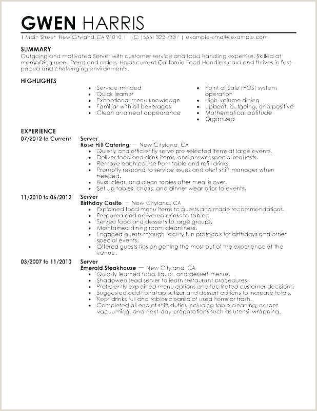 waitress job description template