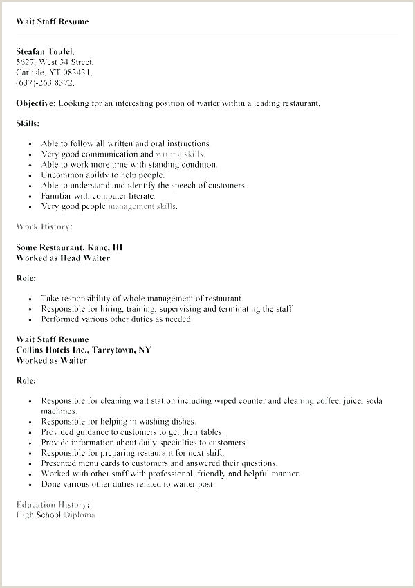 waitress job description template – bernardy