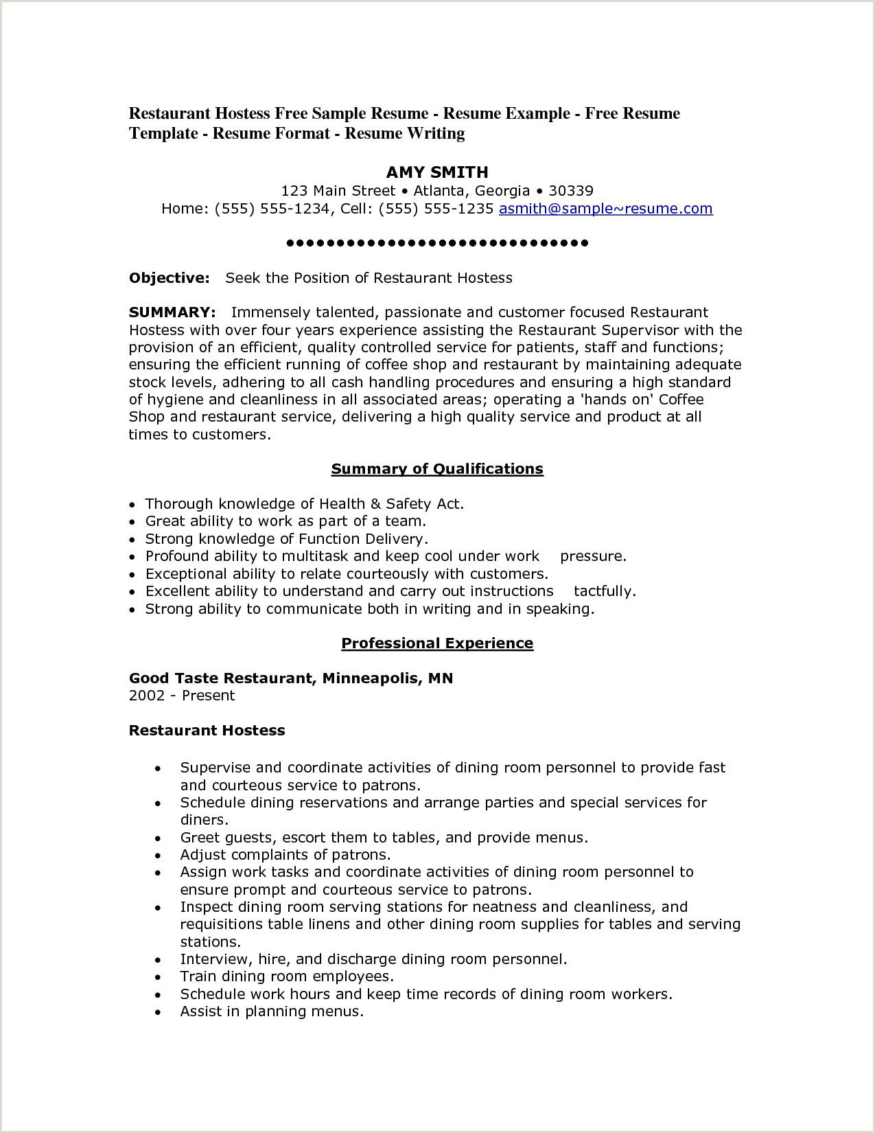 food service worker sample resume engineer cover letter