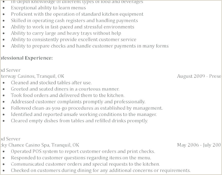 responsibilities of a waitress for resume – englishor