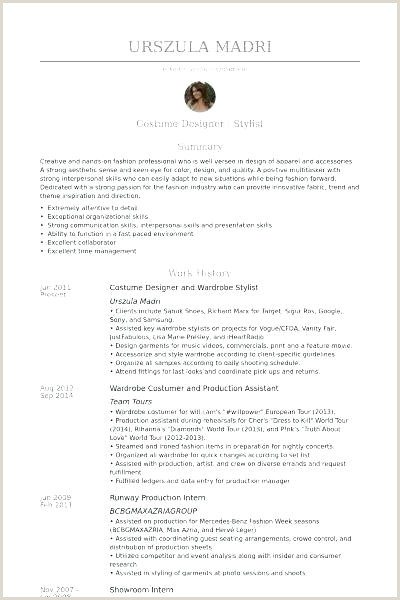 Wardrobe Stylist Resume Fashion Stylist Resume Example – Newskeyfo