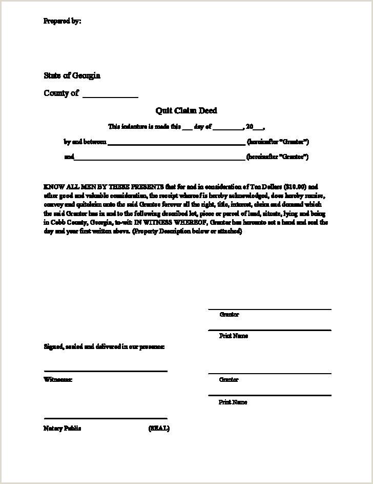 Warranty Deed Template Free New General Warranty Deed form
