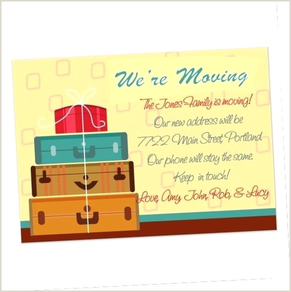 We Moved Postcards Beau Business Moving Announcement