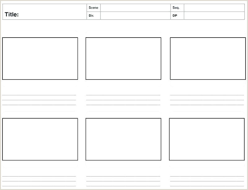 Website Storyboard Template Word A3 Storyboard Template