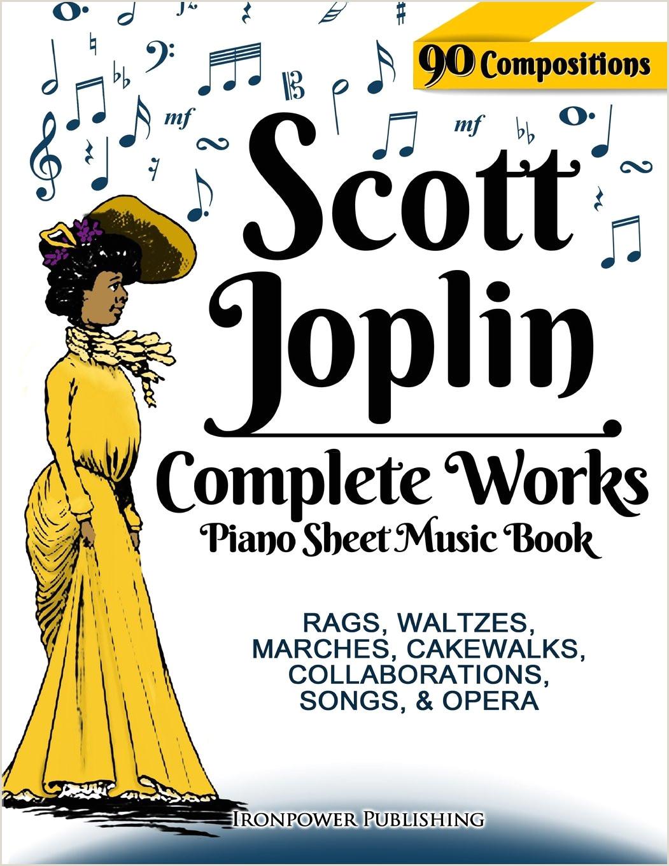 Wedding Dresses Joplin Mo Scott Joplin Piano Sheet Music Book Plete Works 90