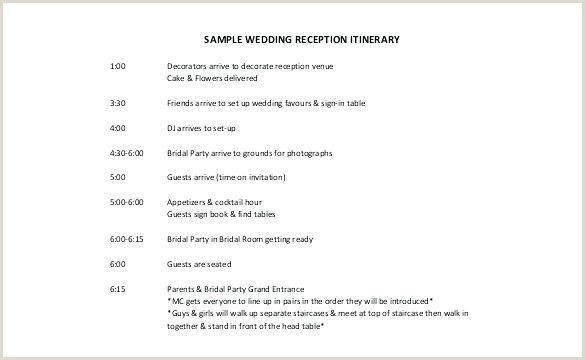 Wedding Itinerary Template for Out Of town Guests Wedding Reception Itinerary Template – Digitalhustle