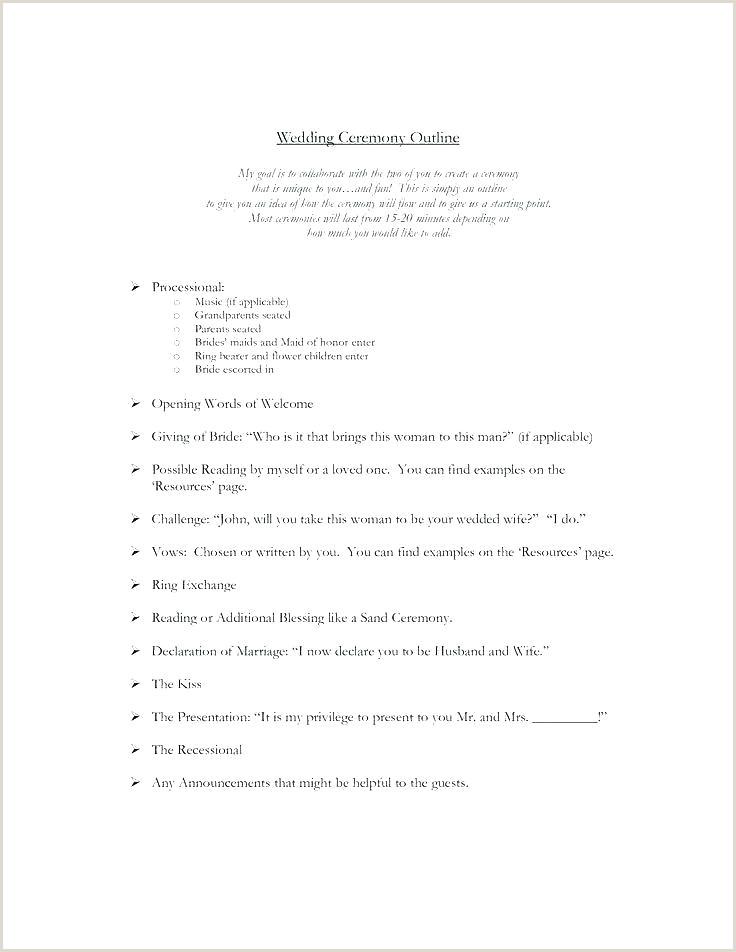 Free Wedding Program Templates You Can Customize Sample