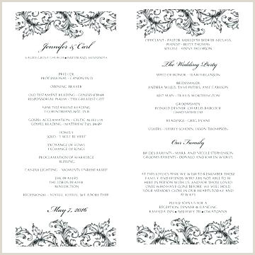 Wedding Program Wording Template Church Program Template Free Fresh Awesome Christian Wedding