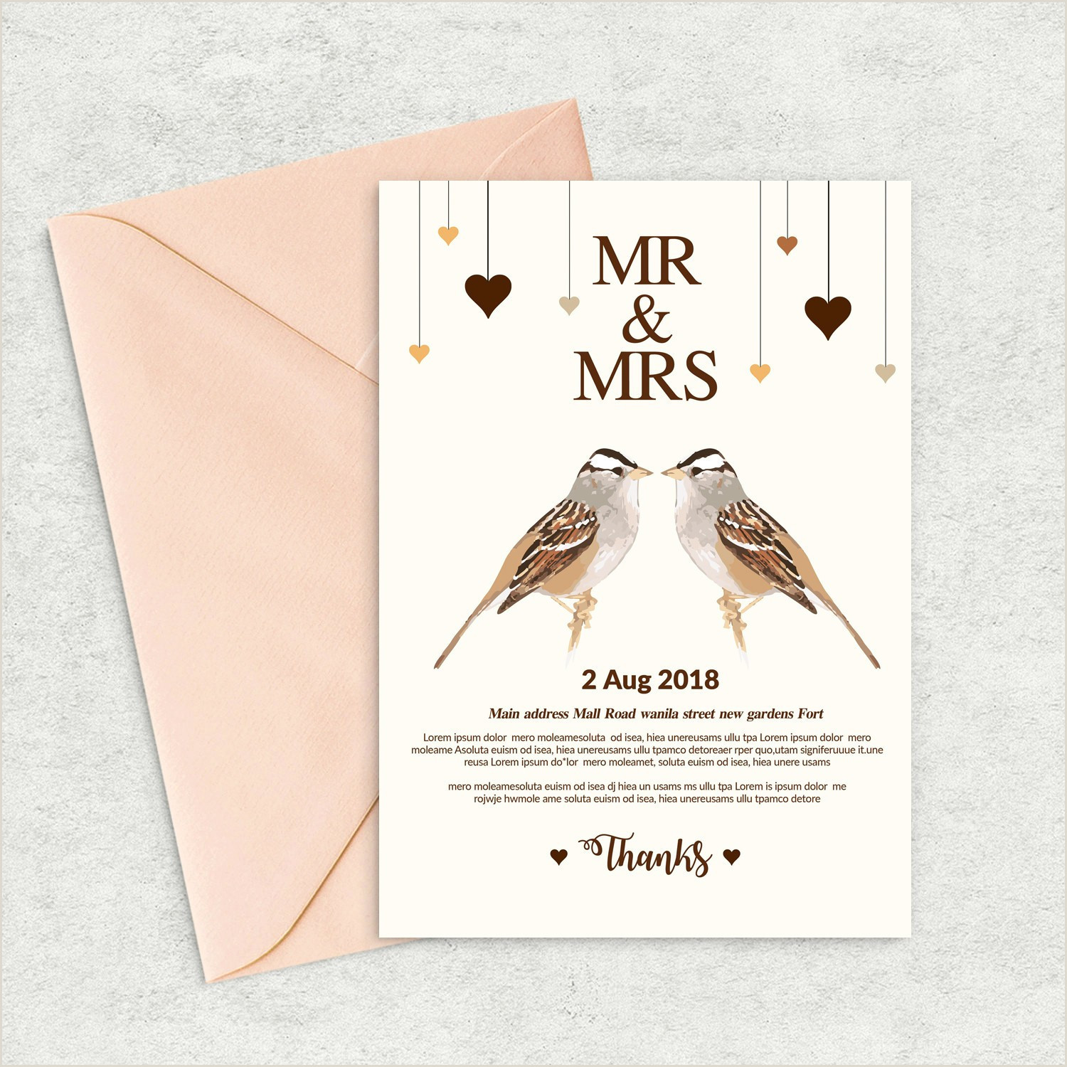 Simple Bridal Shower Invitations Templates