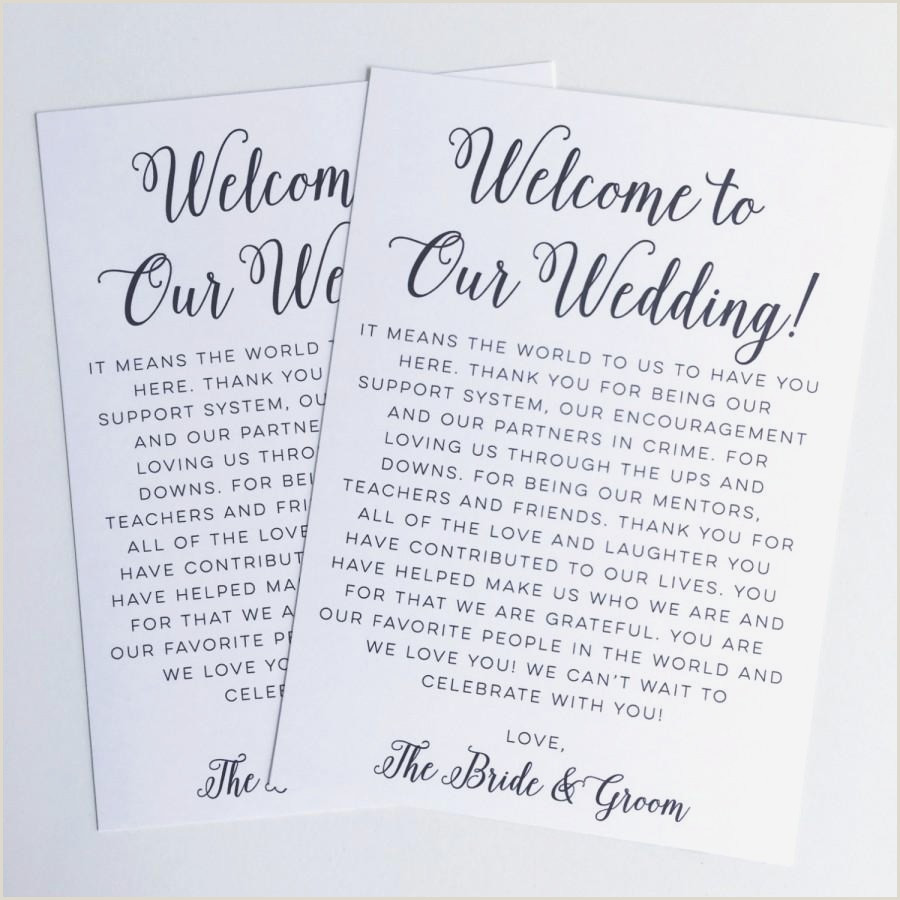 Wedding Welcome Bag Letter Sample Preschool Wel E Letter to Parents From Teacher Template