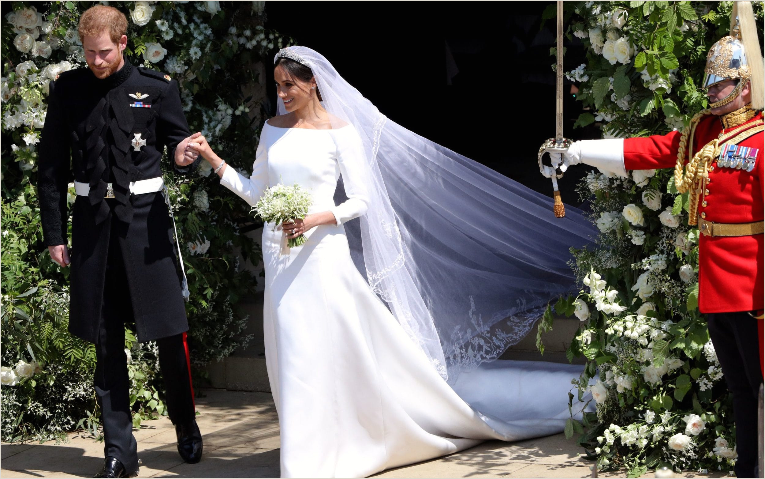 Prince Harry and Meghan Markle s royal wedding day Best