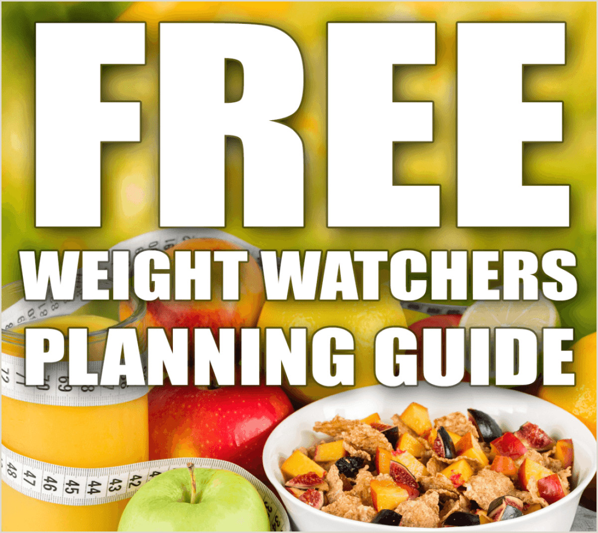 Weight Watchers Meal Planner Template How to Do Weight Watchers for Free
