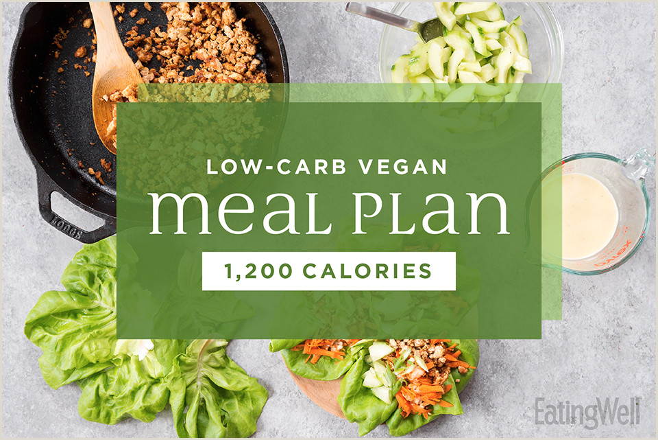 Weight Watchers Meal Planner Template How to Follow A Low Carb Vegan Meal Plan 1 200 Calories