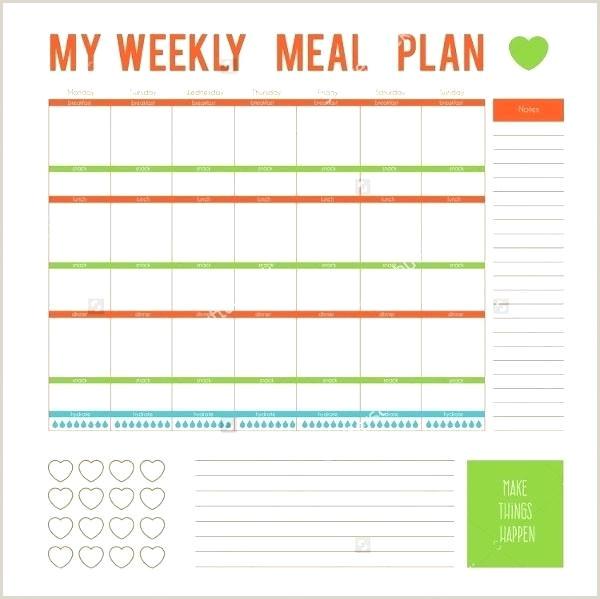 Weight Watchers Menu Planner Template Weekly Dinner Meal Planner Template – Allthingspropertyfo
