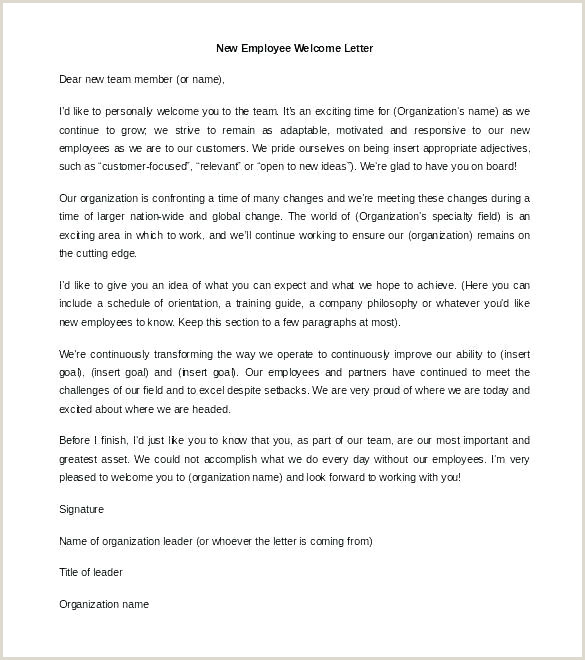 Welcome Aboard Letter for New Employee Apple Employee Wel E Letter New Packet Template From Hire
