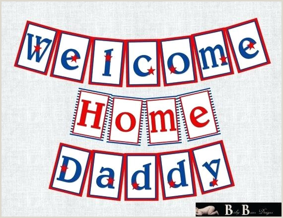 Welcome Home Banner Template Free Printable Wel E Banner Template