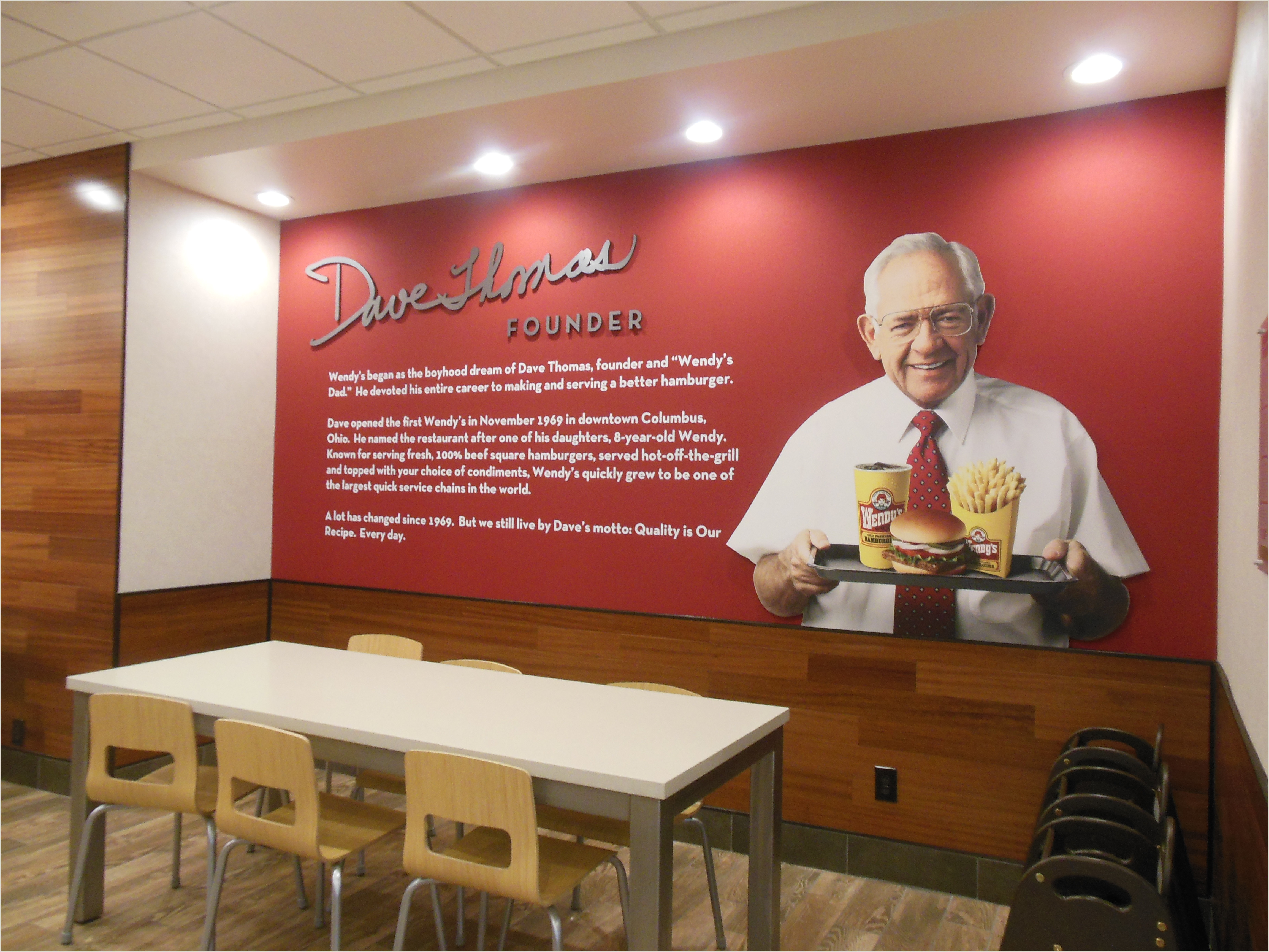 Wendys Crew Member Job Description order Your Next Frosty at Wendy S New Flagship Restaurant