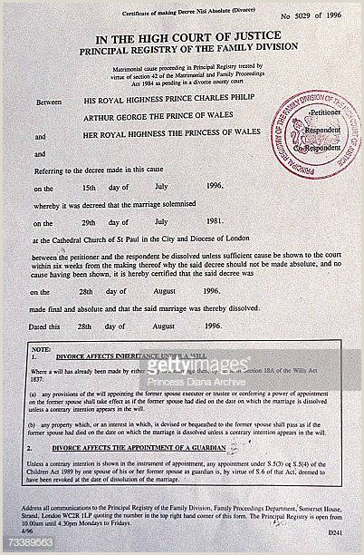 What Does A Divorce Decree Look Like Divorce Papers Premium S & Getty