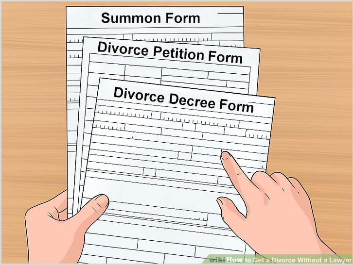 What Does A Divorce Decree Look Like How to Get A Divorce without A Lawyer with Wikihow