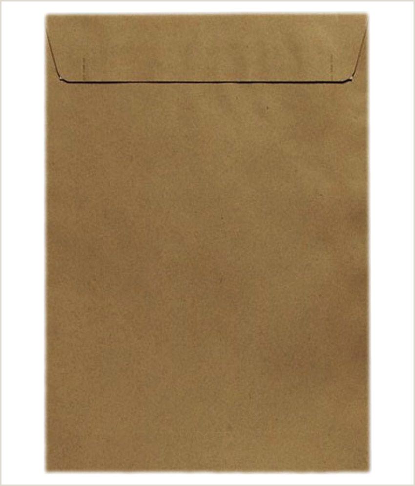 Where to Write Address On Envelope In India Ayyappan Envelopes A4 Size Brown Envelope Pack 100 Buy