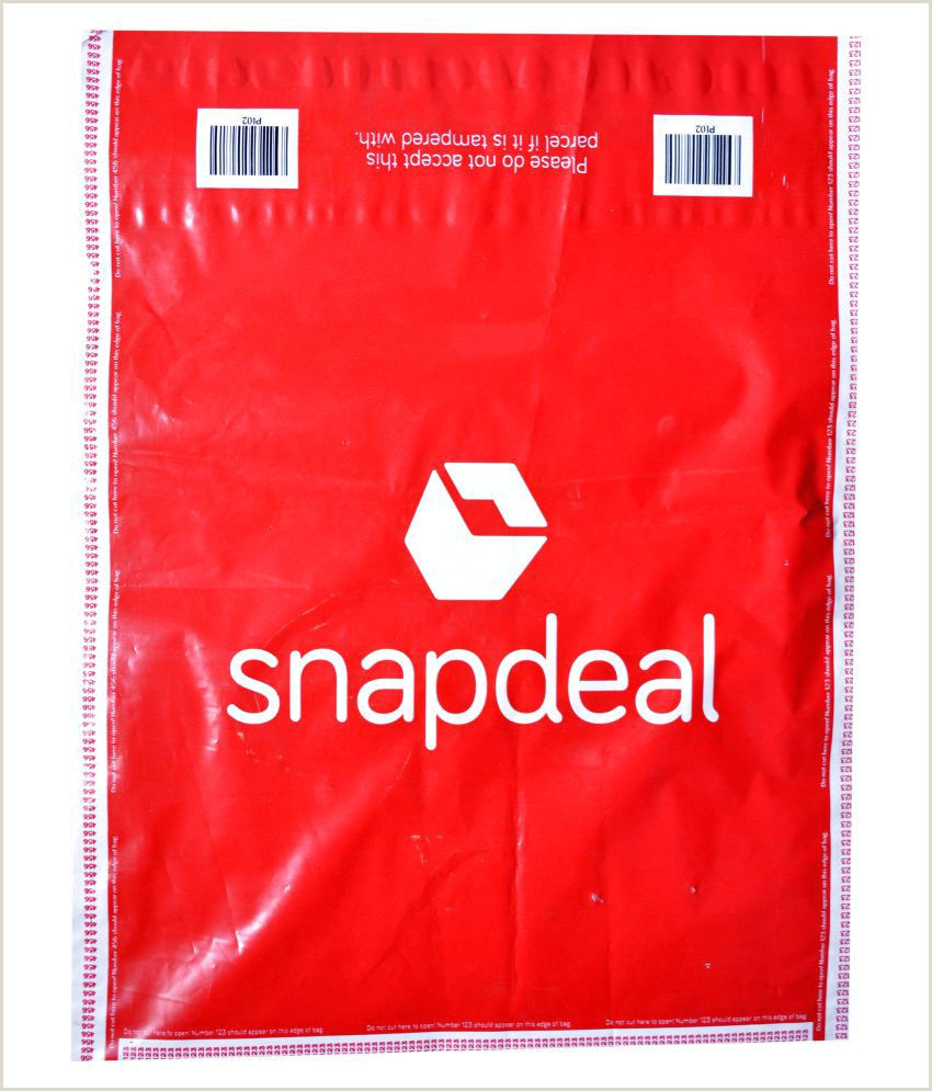 Snapdeal Tamper Proof Envelope 8 5x11 5 Inches PL02 pack of 100