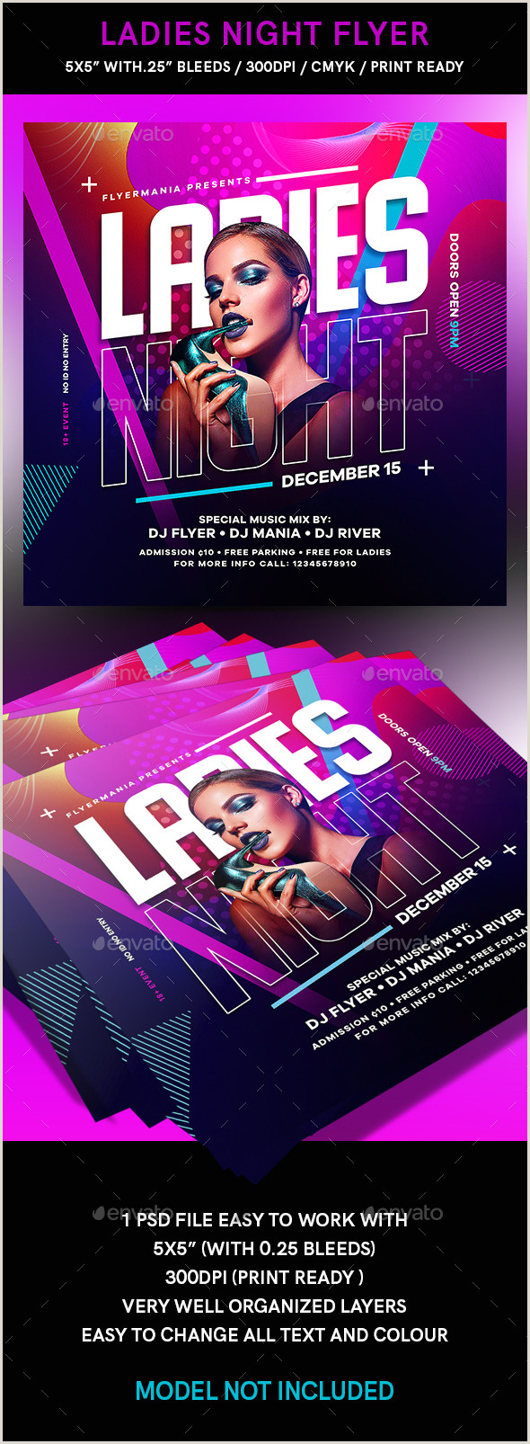 White Party Flyer Flyer Templates From Graphicriver